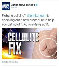 Action News Tweet